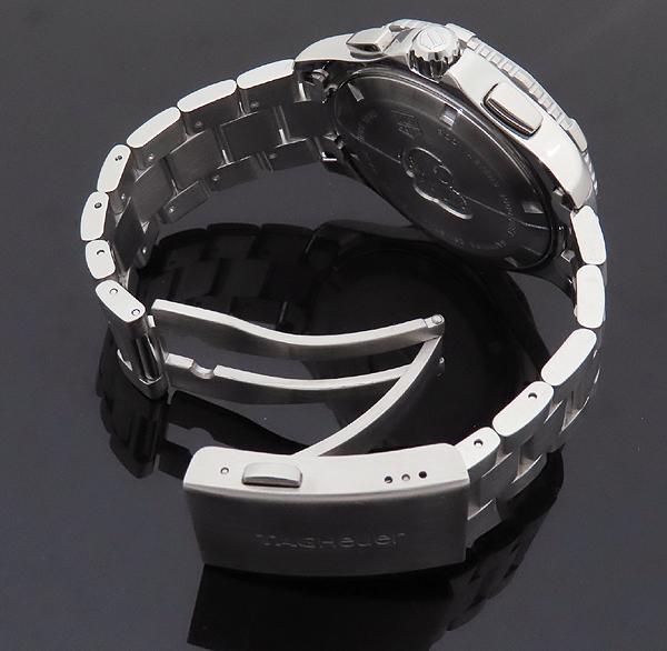 Tag Heuer(태그호이어) CAN1010 아쿠아레이서 크로스 스틸 43MM 쿼츠 남성용 시계 [인천점] 이미지4 - 고이비토 중고명품