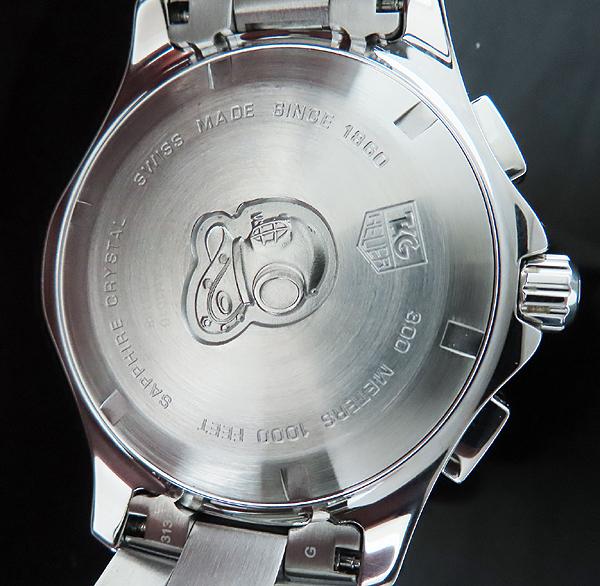 Tag Heuer(태그호이어) CAN1010 아쿠아레이서 크로스 스틸 43MM 쿼츠 남성용 시계 [인천점] 이미지5 - 고이비토 중고명품