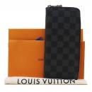 Louis Vuitton(루이비통) N63095 다미에 그라피트 캔버스 지피 월릿 버티컬 장지갑 [인천점]