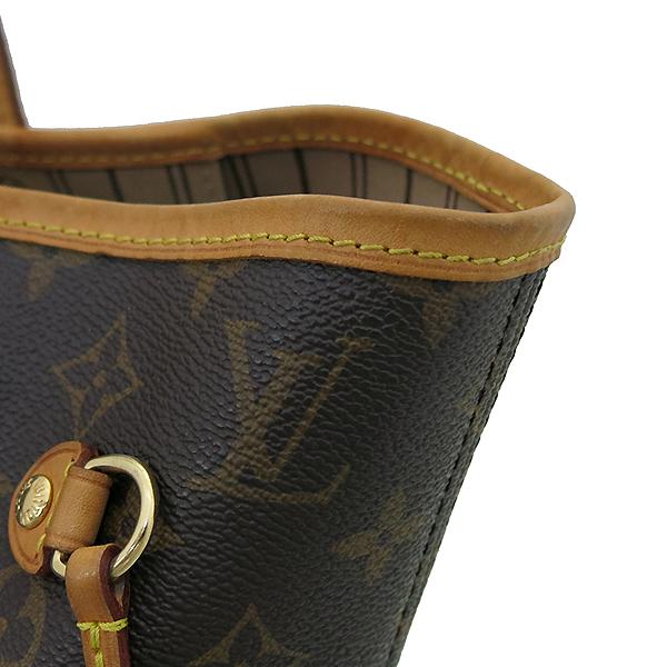 Louis Vuitton(루이비통) M40156 모노그램 캔버스 네버풀 MM 숄더백 [부산서면롯데점] 이미지4 - 고이비토 중고명품