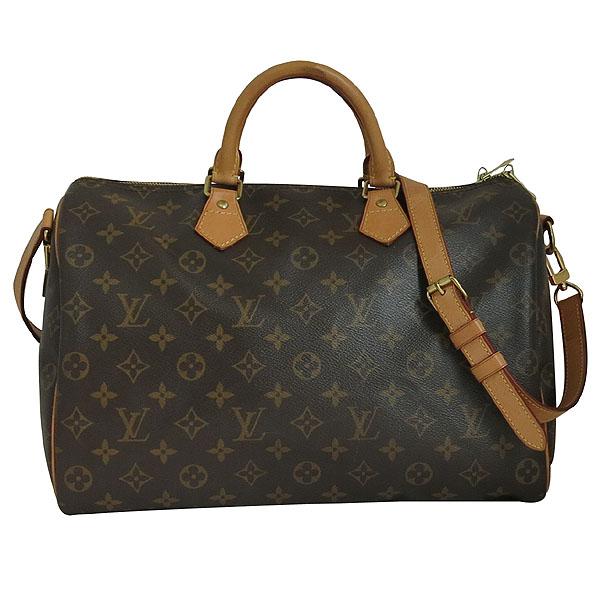 Louis Vuitton(루이비통) M40392 모노그램 캔버스 반둘리에 스피디 35 토트백+숄더스트랩 2WAY [대구동성로점] 이미지2 - 고이비토 중고명품