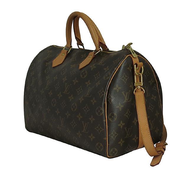 Louis Vuitton(루이비통) M40392 모노그램 캔버스 반둘리에 스피디 35 토트백+숄더스트랩 2WAY [대구동성로점] 이미지3 - 고이비토 중고명품