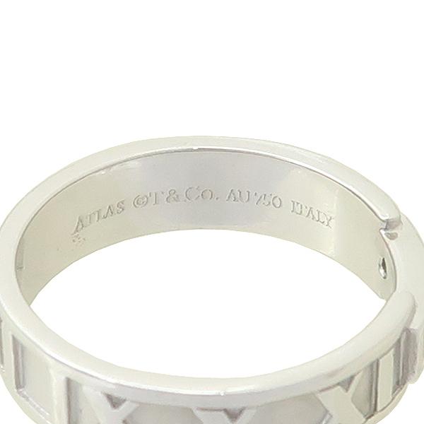Tiffany(티파니) 750 18K 화이트골드 3포인트 다이아 아틀라스 반지 - 16호 [잠실점] 이미지4 - 고이비토 중고명품