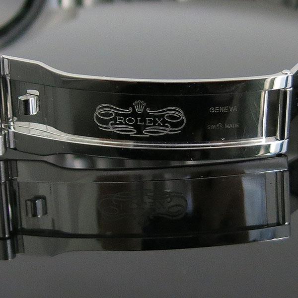 Rolex(로렉스) 126334 DATEJUST (데이저스트) 신형 41MM 화이트골드 플루티드 베젤 다크로듐 썬레이 다이얼 10포인트 다이아 셋팅 오이스터 스틸 밴드 오토매틱 남성용 시계 [대구동성로점] 이미지6 - 고이비토 중고명품