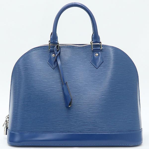 Louis Vuitton(루이비통)  블루 레더 에삐 알마 MM 토트백 [강남본점]