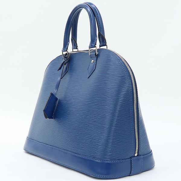 Louis Vuitton(루이비통)  블루 레더 에삐 알마 MM 토트백 [강남본점] 이미지2 - 고이비토 중고명품