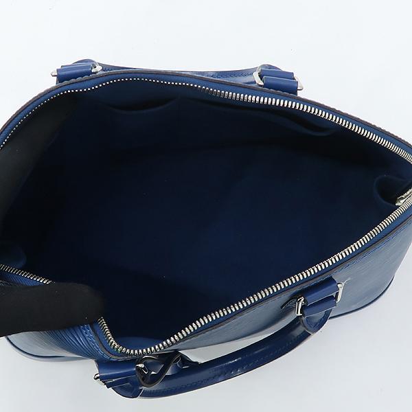 Louis Vuitton(루이비통)  블루 레더 에삐 알마 MM 토트백 [강남본점] 이미지4 - 고이비토 중고명품