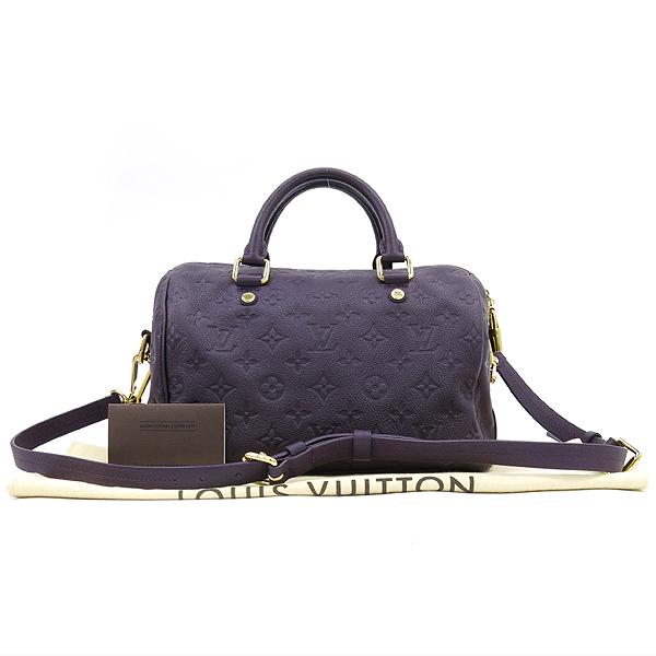 Louis Vuitton(루이비통) M40765 모노그램 앙프렝뜨 반둘리에 스피디 25 토트백 + 숄더스트랩 [강남본점]
