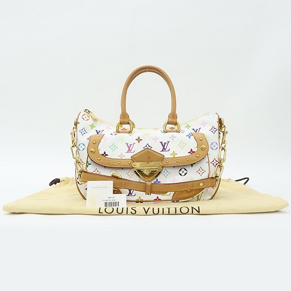 Louis Vuitton(루이비통) M40125 모노그램 멀티 화이트 리타 토트백 + 숄더스트랩 2WAY [강남본점]