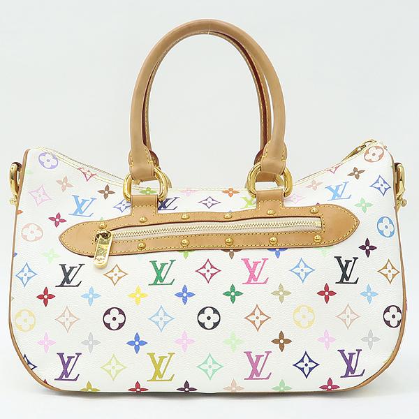 Louis Vuitton(루이비통) M40125 모노그램 멀티 화이트 리타 토트백 + 숄더스트랩 2WAY [강남본점] 이미지4 - 고이비토 중고명품