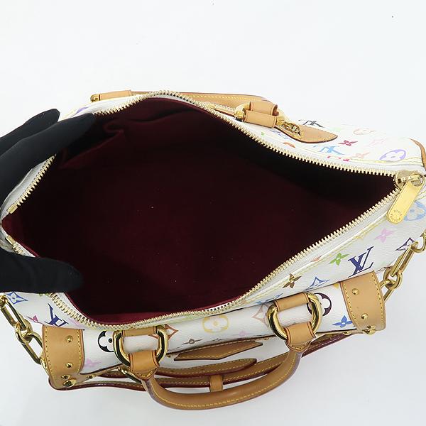 Louis Vuitton(루이비통) M40125 모노그램 멀티 화이트 리타 토트백 + 숄더스트랩 2WAY [강남본점] 이미지5 - 고이비토 중고명품