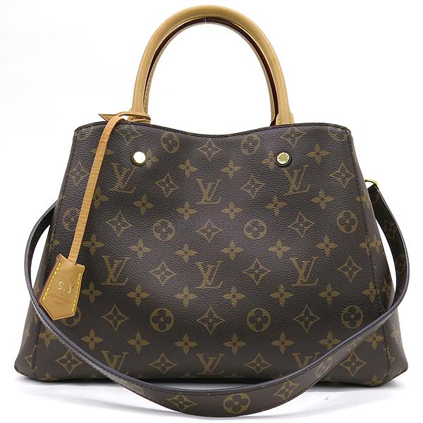 Louis Vuitton(루이비통) M41056 모노그램 캔버스 몽테뉴 MM 토트백 + 숄더스트랩 2WAY [강남본점] 이미지2 - 고이비토 중고명품