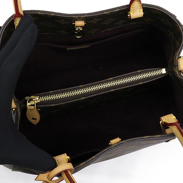Louis Vuitton(루이비통) M41056 모노그램 캔버스 몽테뉴 MM 토트백 + 숄더스트랩 2WAY [강남본점] 이미지6 - 고이비토 중고명품