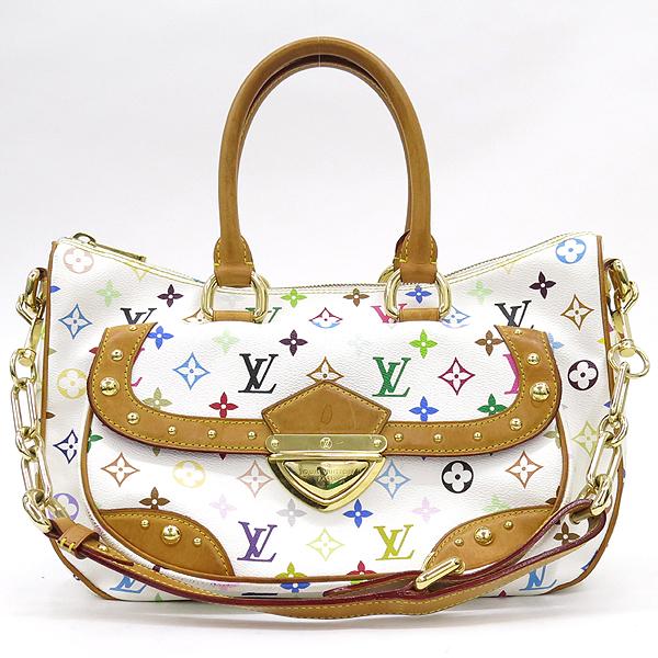 Louis Vuitton(루이비통) M40125 모노그램 멀티 화이트 리타 토트백 + 숄더스트랩 2WAY [강남본점] 이미지2 - 고이비토 중고명품