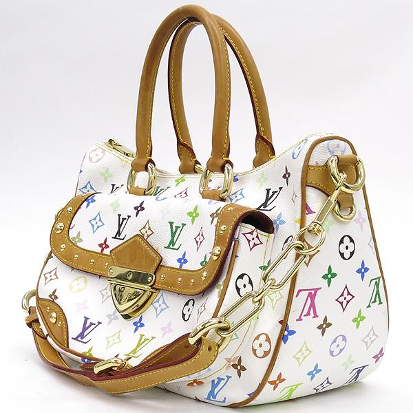 Louis Vuitton(루이비통) M40125 모노그램 멀티 화이트 리타 토트백 + 숄더스트랩 2WAY [강남본점] 이미지3 - 고이비토 중고명품