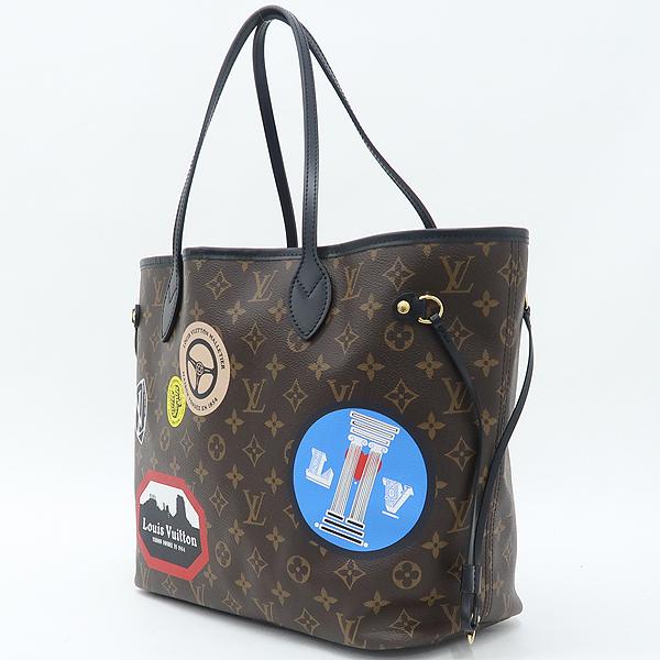 Louis Vuitton(루이비통) M42844 모노그램 월드 투어 네버풀 MM 숄더백 + 보조파우치 [강남본점] 이미지3 - 고이비토 중고명품