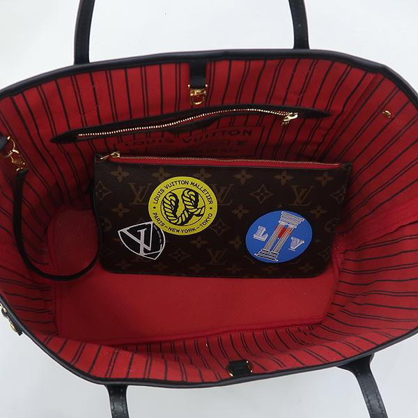 Louis Vuitton(루이비통) M42844 모노그램 월드 투어 네버풀 MM 숄더백 + 보조파우치 [강남본점] 이미지5 - 고이비토 중고명품