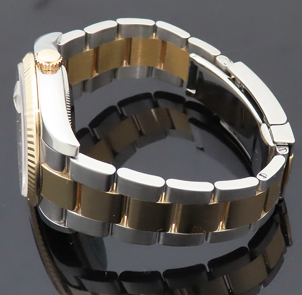 Rolex(로렉스) 116233 DATEJUST 데이트저스트 18K 콤비 오이스터 밴드 스틸 로마인덱스 화이트다이얼 오토매틱 남성용 시계 [인천점] 이미지4 - 고이비토 중고명품