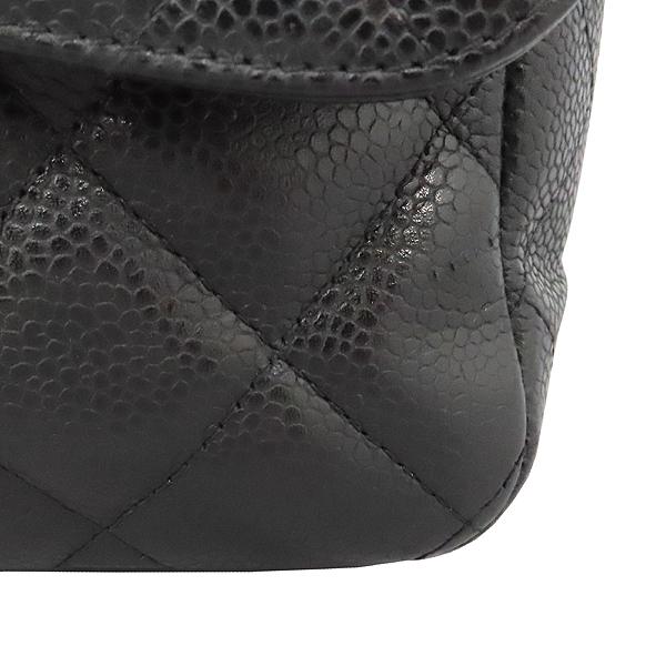 Chanel(샤넬) A28600 캐비어 스킨 블랙 클래식 점보 L사이즈 금장로고 체인 플랩 숄더백 [대구황금점] 이미지5 - 고이비토 중고명품