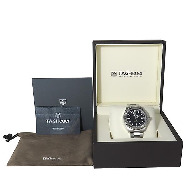 Tag Heuer(태그호이어) WBD1110 Aquaracer(아쿠아레이서) 흑판 쿼츠 스틸 남성용 시계 [대전본점]
