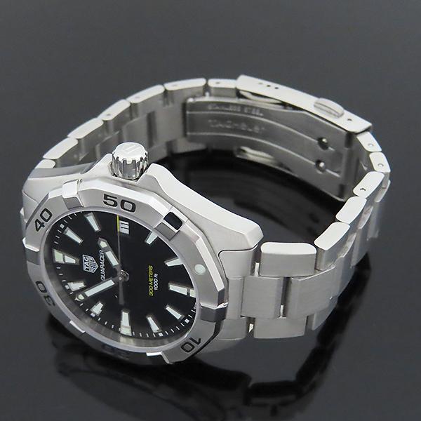 Tag Heuer(태그호이어) WBD1110 Aquaracer(아쿠아레이서) 흑판 쿼츠 스틸 남성용 시계 [대전본점] 이미지3 - 고이비토 중고명품