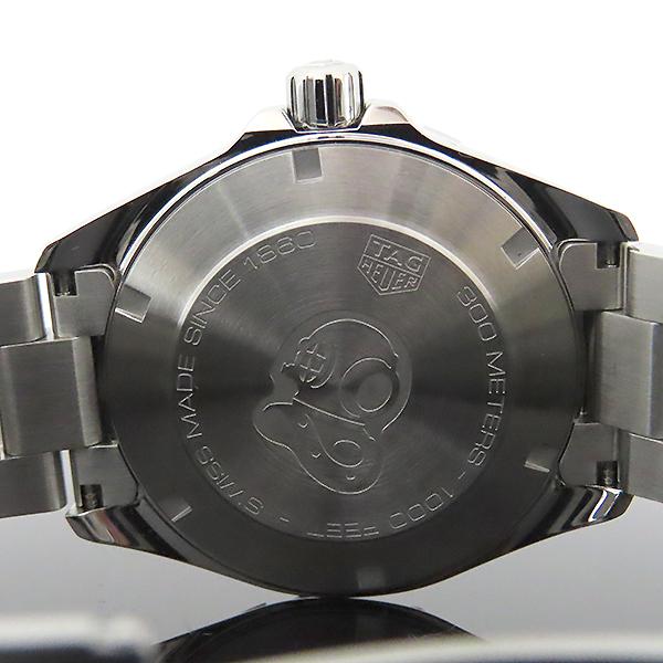 Tag Heuer(태그호이어) WBD1110 Aquaracer(아쿠아레이서) 흑판 쿼츠 스틸 남성용 시계 [대전본점] 이미지4 - 고이비토 중고명품
