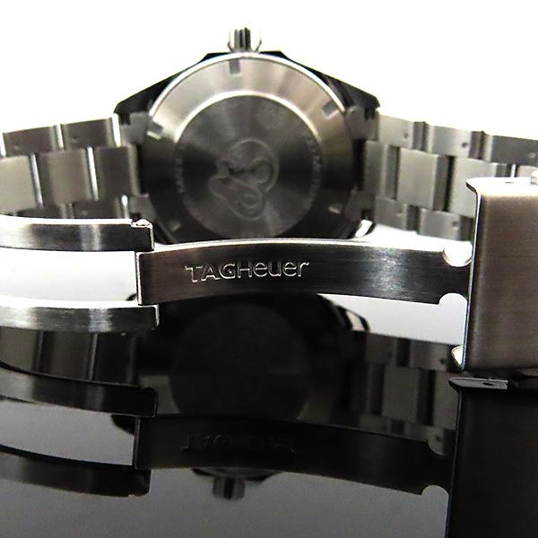 Tag Heuer(태그호이어) WBD1110 Aquaracer(아쿠아레이서) 흑판 쿼츠 스틸 남성용 시계 [대전본점] 이미지5 - 고이비토 중고명품