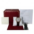 Cartier(까르띠에) W6701009 18k 로즈 골드 금통 Ronde Solo(론드 솔로) XL 사이즈 42mm 가죽밴드 오토매틱 남성용 시계 [대전본점]