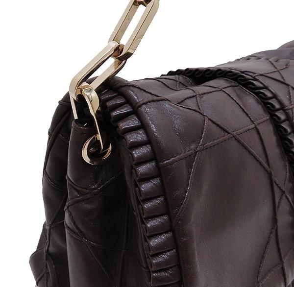 Dior(크리스챤디올) 까나쥬 램스킨 뉴 락 금장 체인 숄더백 [인천점] 이미지3 - 고이비토 중고명품