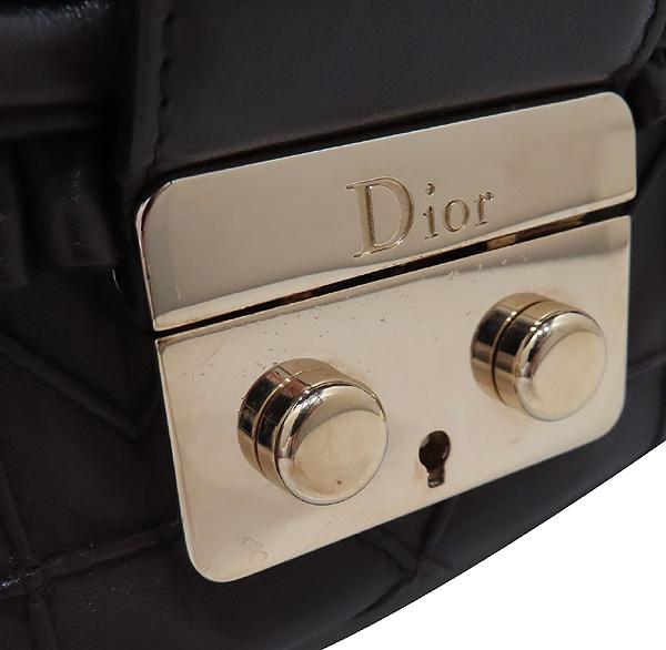 Dior(크리스챤디올) 까나쥬 램스킨 뉴 락 금장 체인 숄더백 [인천점] 이미지4 - 고이비토 중고명품