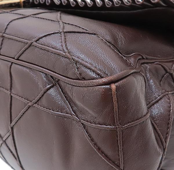 Dior(크리스챤디올) 까나쥬 램스킨 뉴 락 금장 체인 숄더백 [인천점] 이미지5 - 고이비토 중고명품