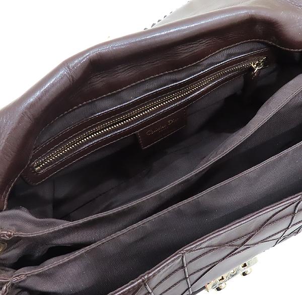 Dior(크리스챤디올) 까나쥬 램스킨 뉴 락 금장 체인 숄더백 [인천점] 이미지6 - 고이비토 중고명품