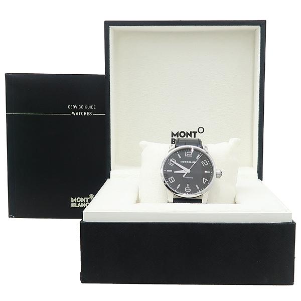 Montblanc(몽블랑) 110337 타임워커 (Timewalker) 42mm 블랙 가죽밴드 오토매틱 남성용 시계 [잠실점]