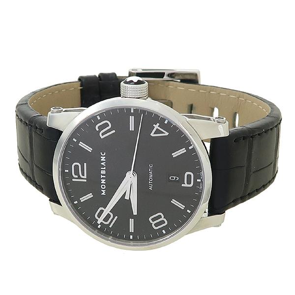 Montblanc(몽블랑) 110337 타임워커 (Timewalker) 42mm 블랙 가죽밴드 오토매틱 남성용 시계 [잠실점] 이미지2 - 고이비토 중고명품