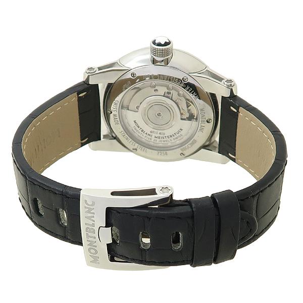 Montblanc(몽블랑) 110337 타임워커 (Timewalker) 42mm 블랙 가죽밴드 오토매틱 남성용 시계 [잠실점] 이미지3 - 고이비토 중고명품