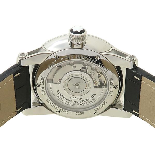 Montblanc(몽블랑) 110337 타임워커 (Timewalker) 42mm 블랙 가죽밴드 오토매틱 남성용 시계 [잠실점] 이미지4 - 고이비토 중고명품