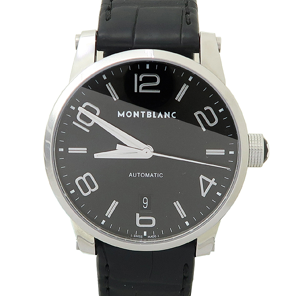 Montblanc(몽블랑) 110337 타임워커 (Timewalker) 42mm 블랙 가죽밴드 오토매틱 남성용 시계 [잠실점] 이미지5 - 고이비토 중고명품