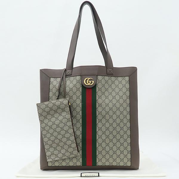 Gucci(구찌) 519335 마몬트 로고 장식 삼색 스티치 PVC 레더 혼방 숄더백 + 보조 파우치 [강남본점]
