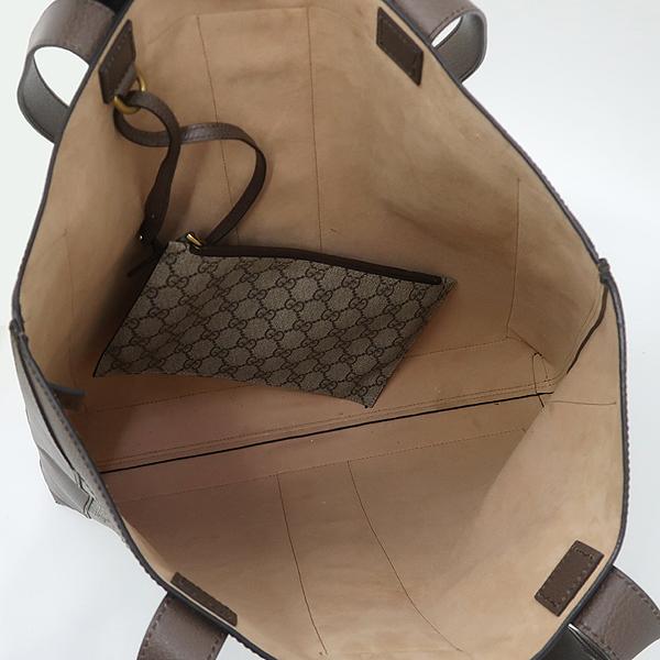 Gucci(구찌) 519335 마몬트 로고 장식 삼색 스티치 PVC 레더 혼방 숄더백 + 보조 파우치 [강남본점] 이미지5 - 고이비토 중고명품