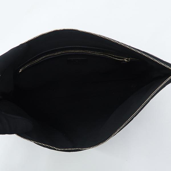 Chanel(샤넬) A69251 캐비어 블랙 금장 로고 L사이즈 클러치백 [강남본점] 이미지5 - 고이비토 중고명품