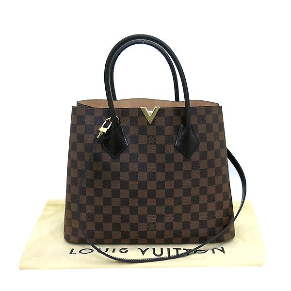 Louis Vuitton(루이비통) N41435 다미에 에벤 캔버스 켄싱턴 토트백 + 숄더스트랩 [부산센텀본점]