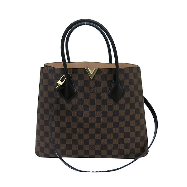 Louis Vuitton(루이비통) N41435 다미에 에벤 캔버스 켄싱턴 토트백 + 숄더스트랩 [부산센텀본점] 이미지2 - 고이비토 중고명품