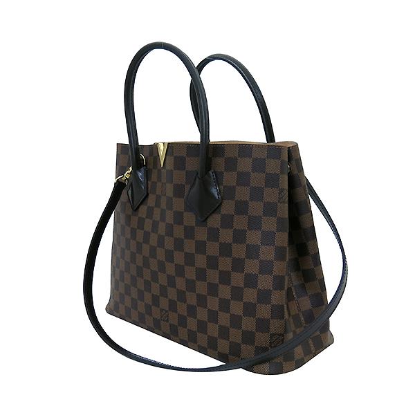 Louis Vuitton(루이비통) N41435 다미에 에벤 캔버스 켄싱턴 토트백 + 숄더스트랩 [부산센텀본점] 이미지3 - 고이비토 중고명품