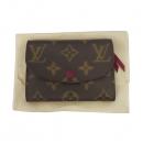 Louis Vuitton(루이비통) M41939 모노그램 캔버스 로잘리 푸시아 코인 퍼스 동전 겸 카드 지갑 [대구황금점]