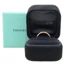 Tiffany(티파니) 18K 옐로우 골드 아틀라스 피어스드 4포인트 다이아 반지 [강남본점]