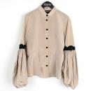 Armani(아르마니) 베이지 컬러 레이스 장식 여성용 자켓 [강남본점]