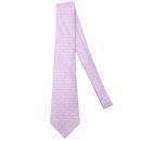 Hermes(에르메스) 100% 핑크 컬러 실크 넥타이 [강남본점]
