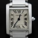 Cartier(까르띠에) W51008Q3 탱크 프랑세스 S사이즈 쿼츠 스틸 여성용 시계 [인천점]