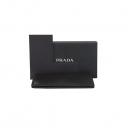 Prada(프라다) 2MV836 은장 로고 블랙 컬러 사피아노 남성용 장지갑 [대구황금점]