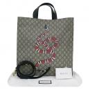 Gucci(구찌) 450950 로고 PVC 스네이크 프린팅 소프트 GG 수프림 쇼퍼 토트백 + 숄더스트랩 2WAY [부산센텀본점]